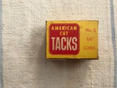 画像1: Tower Brand AMERICAN CUT TACKS 釘 (1)