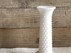 画像4: ミルクガラス 一輪挿し フラワーベース (4)