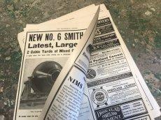 オリジナル広告の為、裏面にも印刷があります。