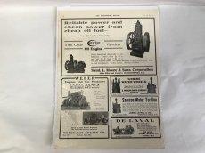 画像1: 1908-1910年工業系専門誌の広告 (1)