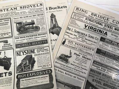 画像2: 1908-1910年工業系専門誌の広告
