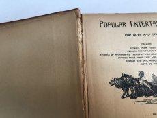 画像5: 1895年 アンティーク BOOK POPULAR ENTERTAINMENTS (5)