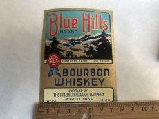 画像3: BLUE HILLS ウイスキーラベル (2枚セット) (3)