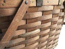 画像11: ビンテージ ピクニックバスケット (11)