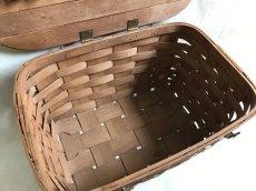 画像7: ビンテージ ピクニックバスケット (7)