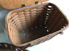 画像8: ビンテージ ピクニックバスケット (8)