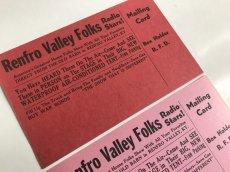 画像4: RENFRO VALLEY FOLKS IN PERSONフライヤー2枚セット (4)