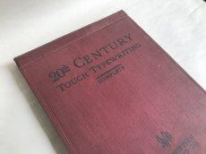 画像1: 1927年 TOUCH TYPEWRITING タイプライター参考書 (1)