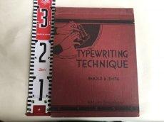 画像9: 1937年 TYPEWRITING TECHNIQUE タイプライター参考書 (9)