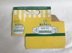 画像4: SEHER'S 組み立て式紙ボトルケース (4)