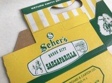 画像2: SEHER'S 組み立て式紙ボトルケース (2)