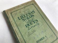 画像1: 1931年 LILLENA'S SOLOS AND DUETS  アンティーク楽譜本 (1)