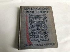画像2: NEW EDUCATIONAL MUSIC COURSE アンティーク楽譜本 (2)