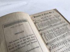 画像6: 1914年  HYMNS  OF GLOVE 賛美歌 アンティーク楽譜本 (6)