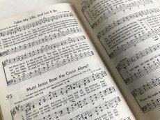 画像7: 1958年  CRUSADE FOR CHRIST SONGS アーミッシュ賛美歌 アンティーク楽譜本 (7)