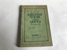 画像2: 1931年 LILLENA'S SOLOS AND DUETS  アンティーク楽譜本 (2)