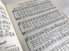 画像6: 1958年  CRUSADE FOR CHRIST SONGS アーミッシュ賛美歌 アンティーク楽譜本 (6)