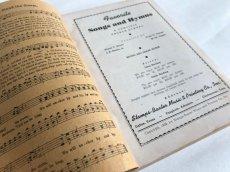 画像5: 1939年 FAVORITE SONGS AND HYMNS  賛美歌 アンティーク楽譜本 (5)