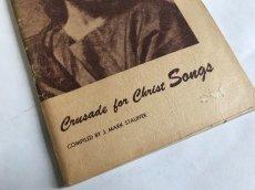 画像11: 1958年  CRUSADE FOR CHRIST SONGS アーミッシュ賛美歌 アンティーク楽譜本 (11)