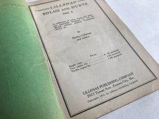 画像5: 1931年 LILLENA'S SOLOS AND DUETS  アンティーク楽譜本 (5)