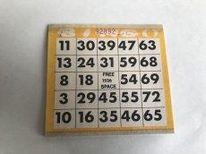 画像1: ペーパービンゴカード(25枚入り)黄色 (1)
