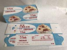 画像1: St.chorles CHOCOLATE  ICE CREAM BOX ロウ紙箱 (1)