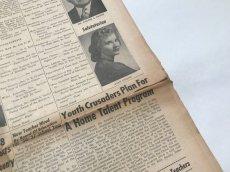 画像3: 英字新聞 1950年代アメリカ (3)