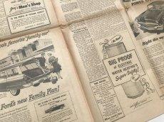 画像6: 英字新聞 1950年代アメリカ (6)