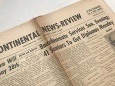 画像4: 英字新聞 1950年代アメリカ (4)