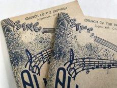画像8: ALLELUIA CHURCH OF THE BRETHREN 賛美歌 ハンディ楽譜 (8)