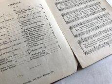 画像5: 1906年 楽譜本 WEAVER'S SCHOOL SONGS (5)
