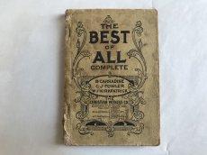 画像2: 1891年 楽譜本 THE BEST OF ALL COMPLETE (2)