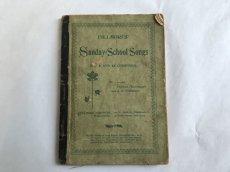 画像2: 1900年 楽譜本 SUNDAY SCHOOL SONGS (2)