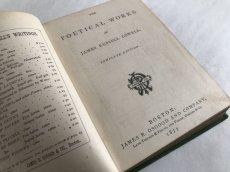 画像6: 1877年 LOWELL'S POETICAL WORKS (6)