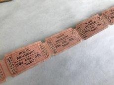 画像2: ヴィンテージクーポン ロールチケット  10枚SET  (2)