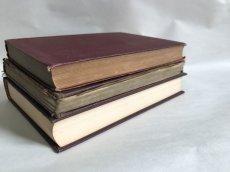 画像3:  アンティークブック3冊SET(横置き) 洋書/古書 (3)