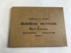 画像1: 1888年 アンティークハンドブック BUSINESS METHODS (1)