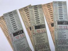 画像5: 1988年 N.Y TRANSFERチケット バスチケット 2枚セット (5)