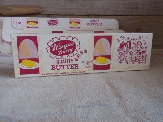 画像1: バター  箱 BOX  (1)