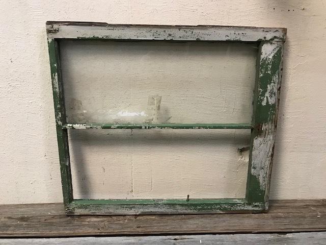 画像1: アンティーク 窓  割れ有り (1)