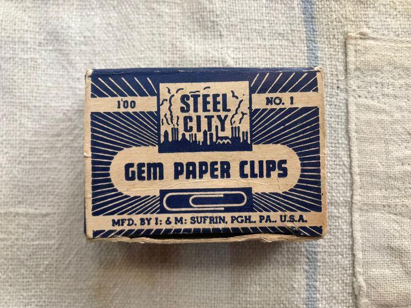画像1: STEEL CITY GEM CLIPS ゼムクリップ (1)