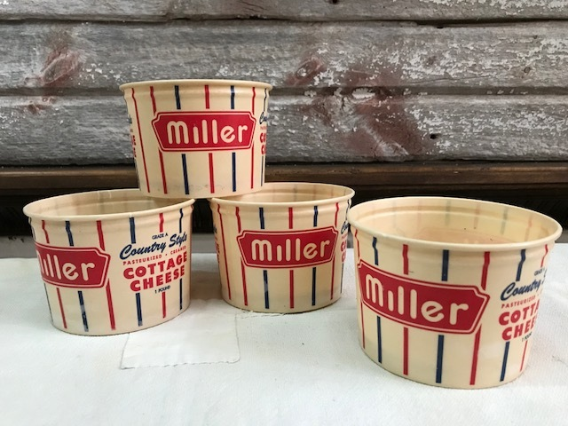 画像1: miller COTTAGE CHEESE CUP  (1)