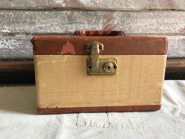 画像1: Makeup Case  ミニトランク (1)