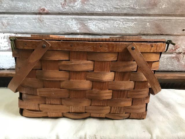 画像1: Picnic basket ピックニックバスケット (1)