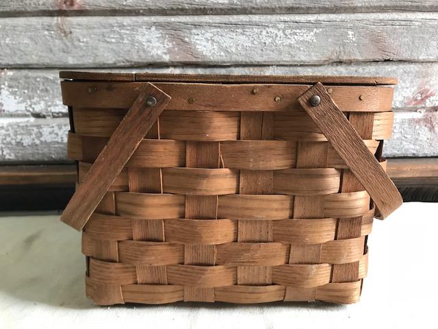 画像1: ピクニックバスケット picnic basket (1)