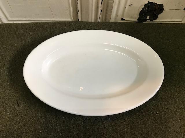 画像1: BUFFALO オーバル プレート 皿 (1)