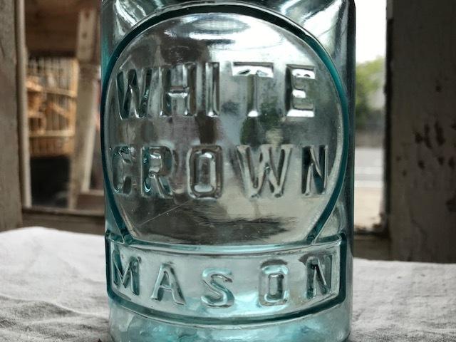 画像1: WHITE CROWN MASON (S) PINT (1)