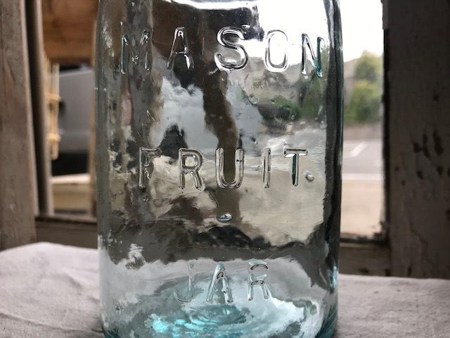画像1: MASON FRUIT JAR (M) QUART (1)