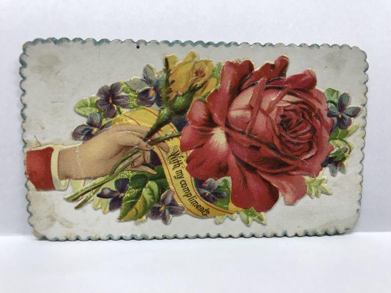 画像1: ヴィクトリアン コーリングカード (1)