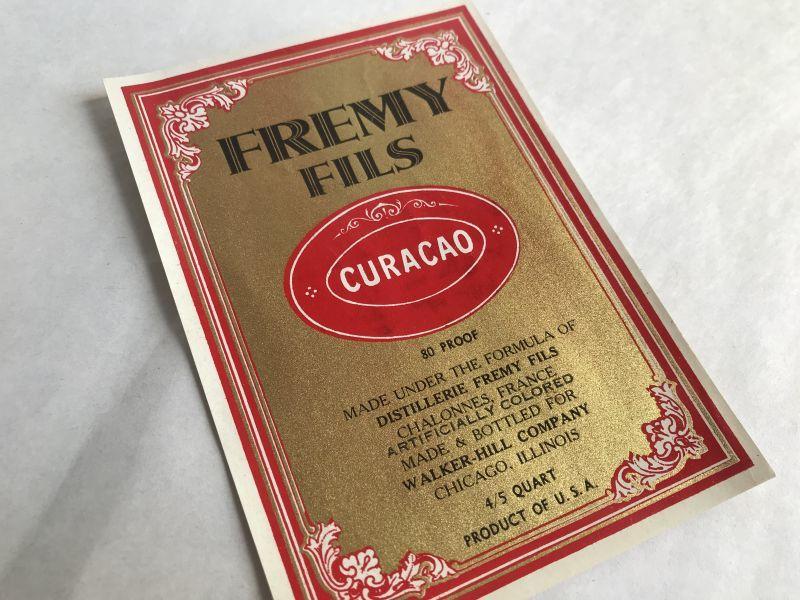 画像1: FREMY FILS ラベル (1枚) (1)
